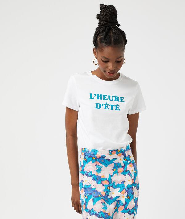 """T-shirt """"L'heure d'été"""""""