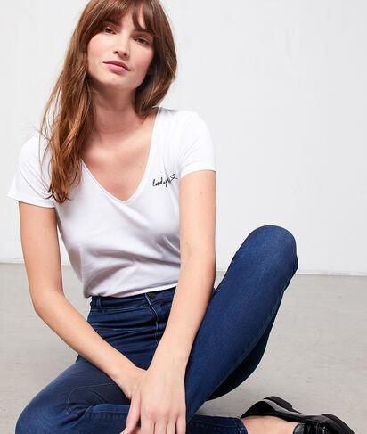"T-shirt brodé ""Ladyboss"""