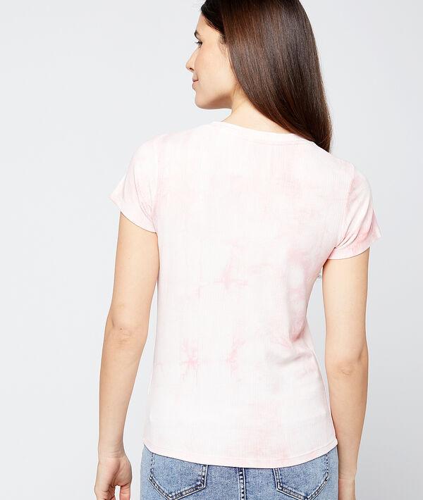 T-shirt à imprimé tie and dye