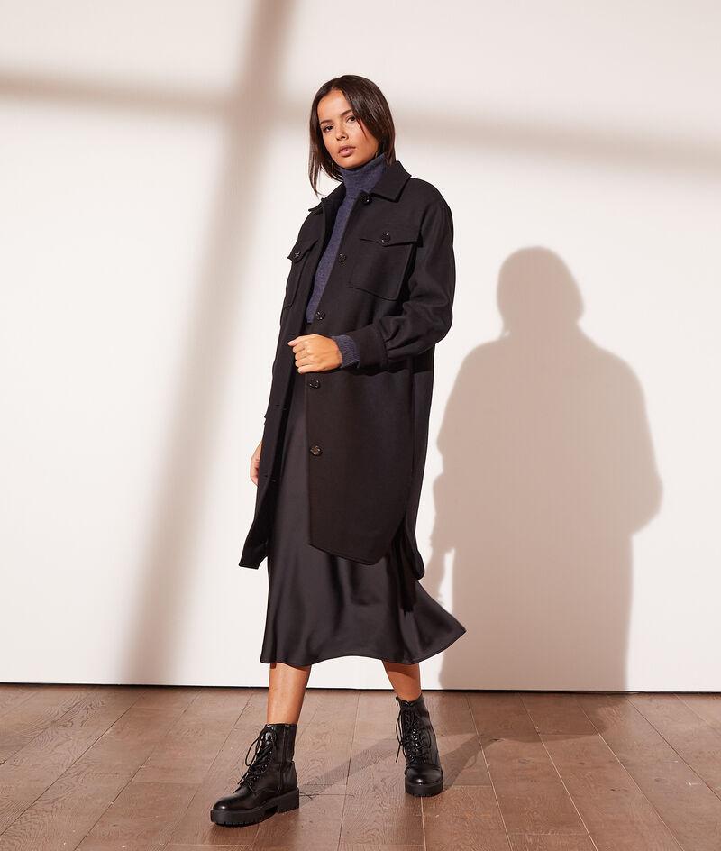 Manteau mi-long