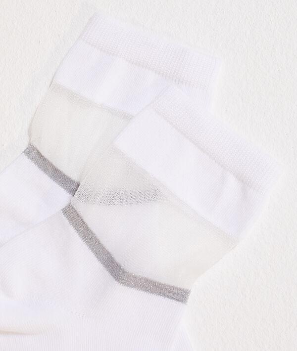 Chaussettes bi-matières