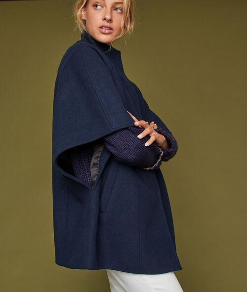 Manteau manches chauve-souris