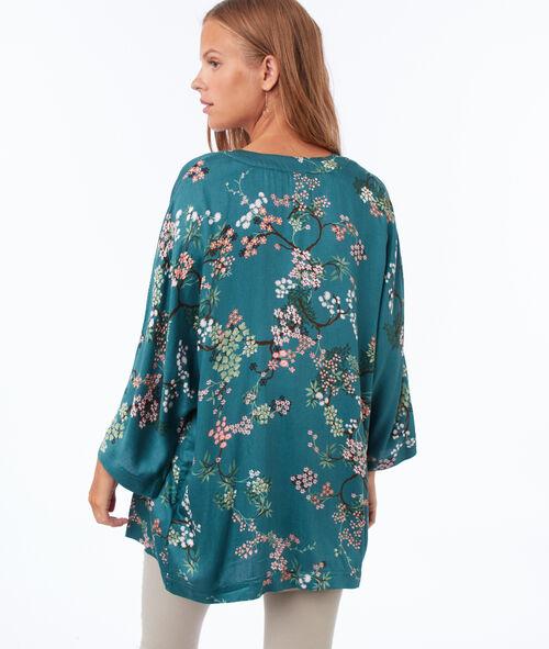 Kimono fleuri