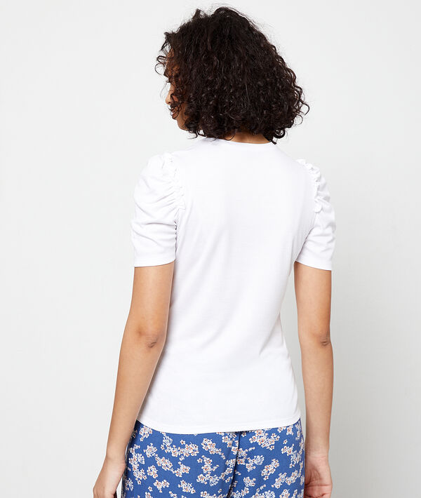 T-shirt manches gigot