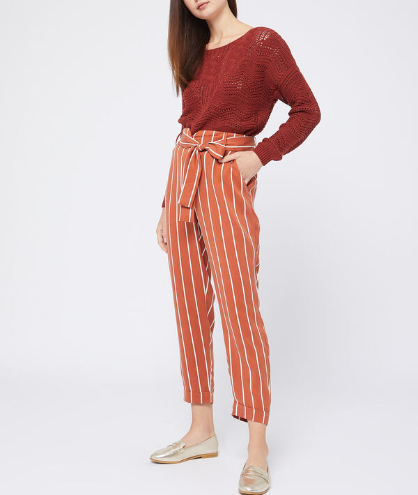 Pantalon carotte en tencel®