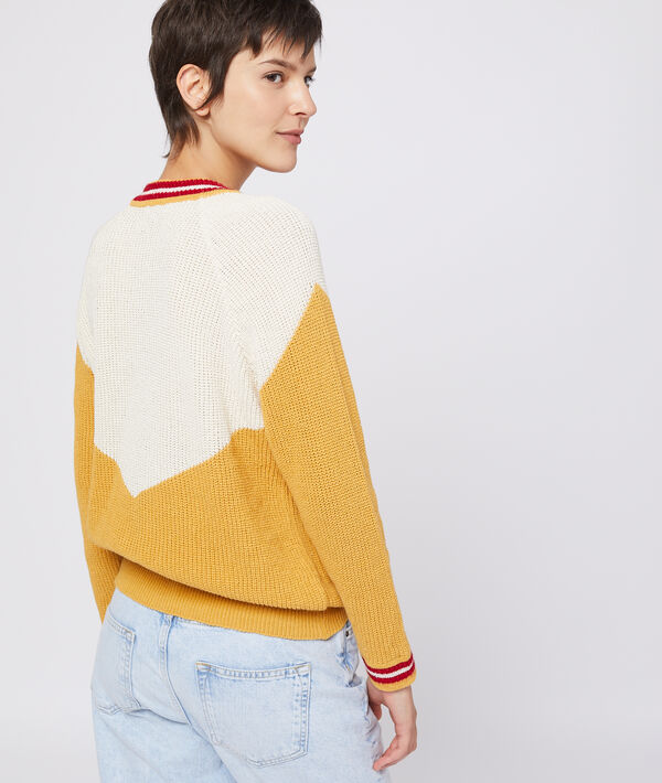 Pull en grosse maille 100% coton