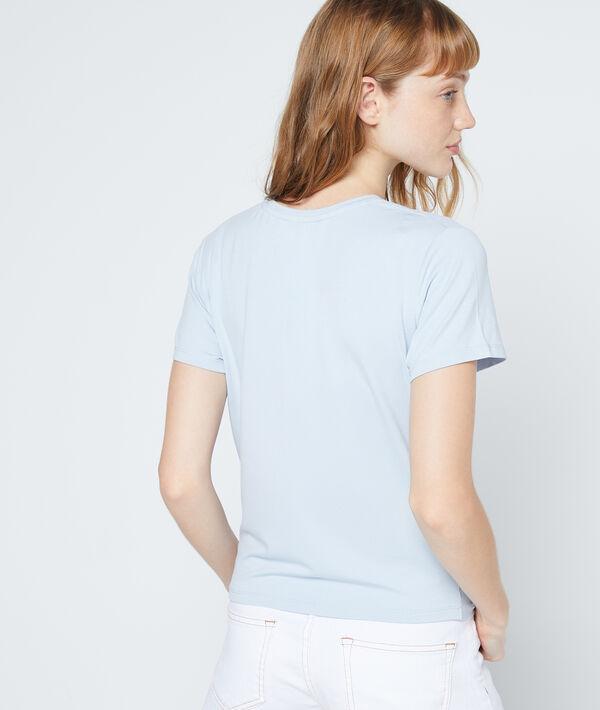 T-shirt drapé