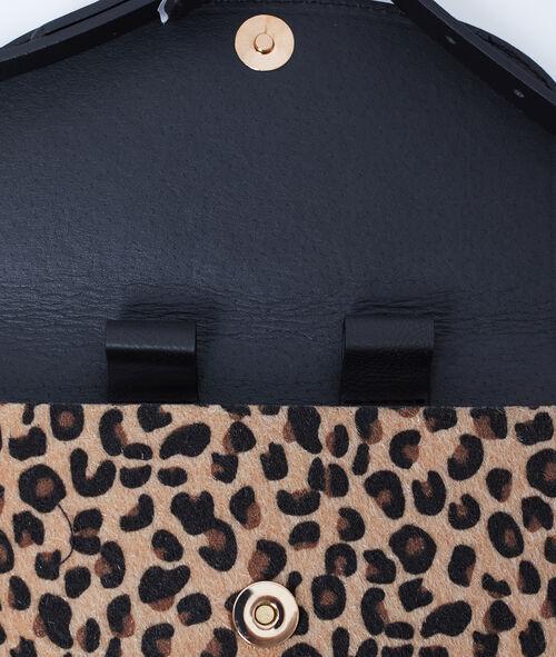 Sac banane à imprimé léopard