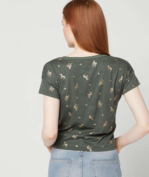 T-shirt imprimé zèbres