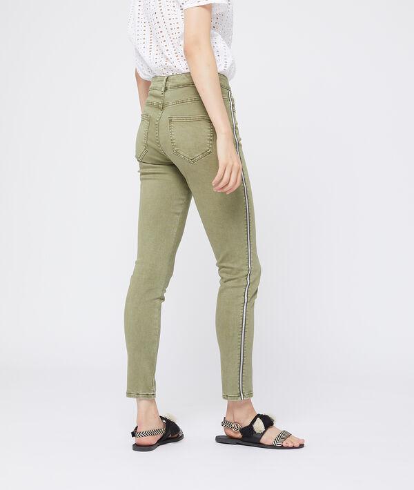 Pantalon slim à bandes latérales