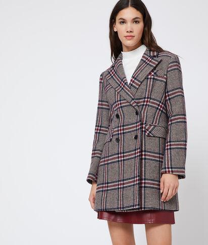 Manteau à motifs Prince de Galles
