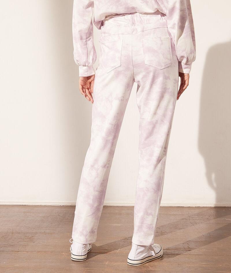 Pantalon jogger tie and dye