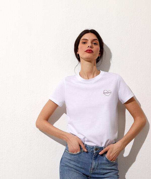 "T-shirt brodé ""Romance"""