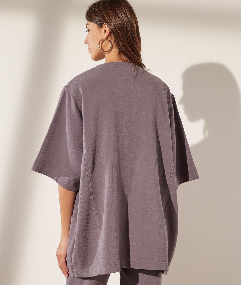 Veste kimono en coton