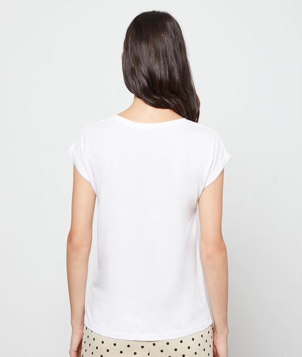 T-shirt sérigraphie zèbre