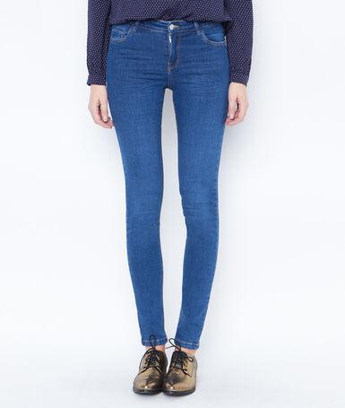 Jean skinny bleu stone.