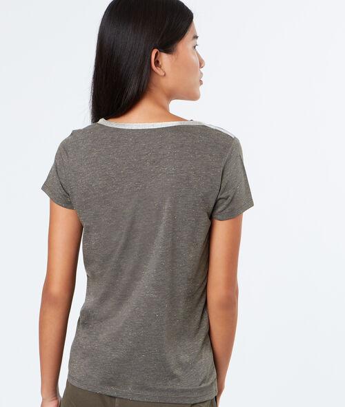 T-shirt effet pailleté