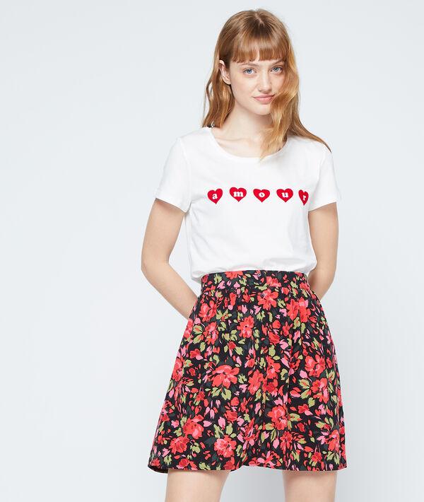"""T-shirt """"Amour"""" en coton"""