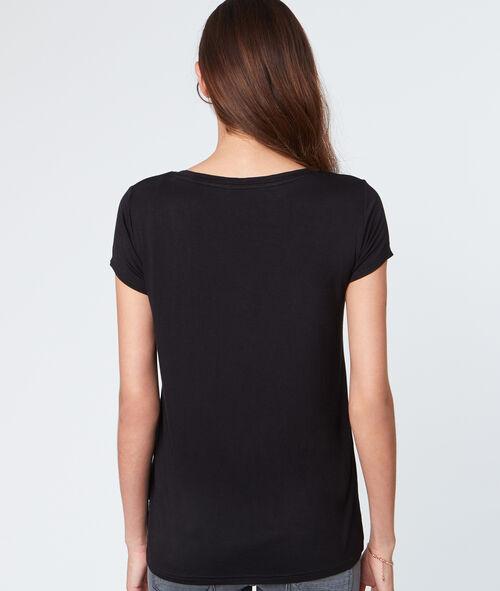 T-shirt fluide manches courtes