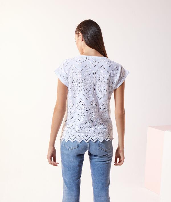 T-shirt guipure