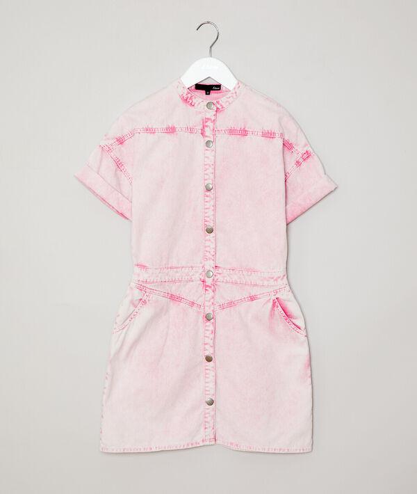 Robe effet délavée en coton