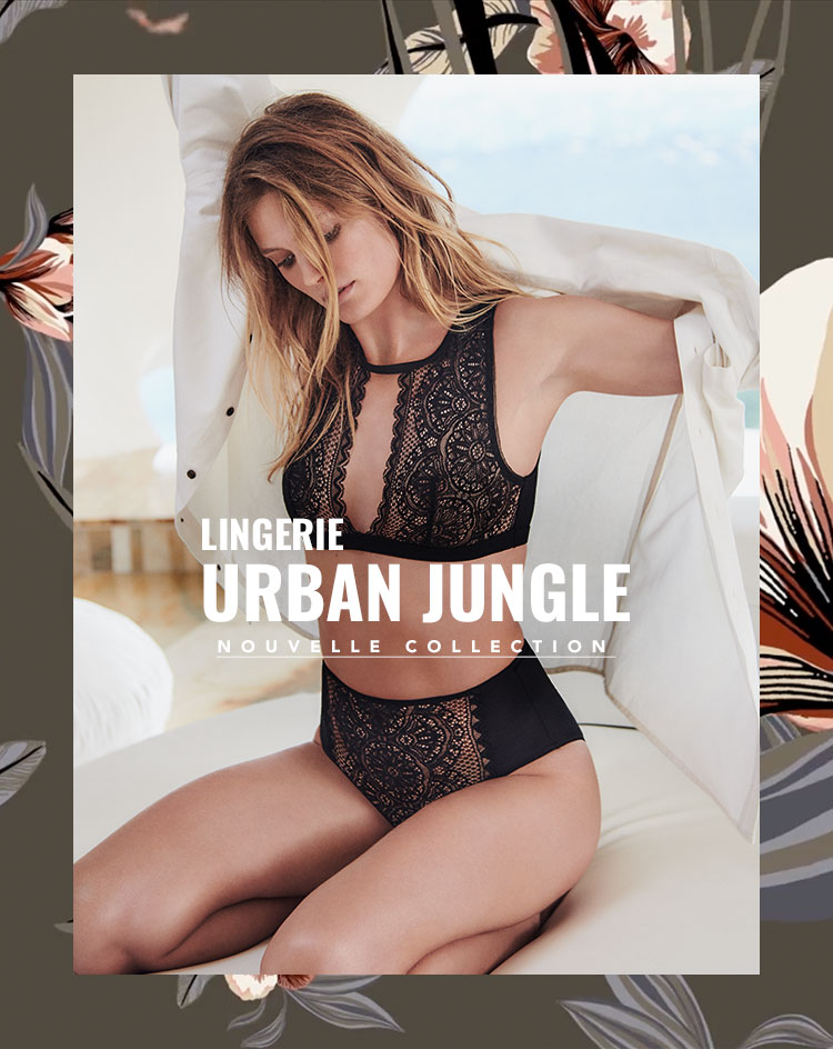 Urban Jungle lingerie