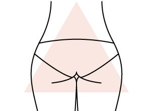Guide de la culotte by Etam - Fesses en A