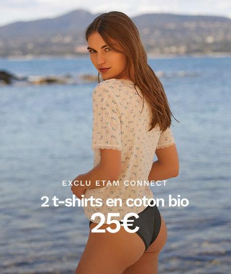 Tendance Coton bio - Découvrez notre nouvelle collection prêt-à-porter sur Etam.com