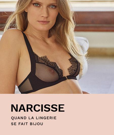 Notre collection haute lingerie Private et sa ligne Narcisse