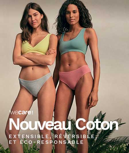 Nouvelle innovation lingerie Coton 360 pour un confort optimal - ETAM