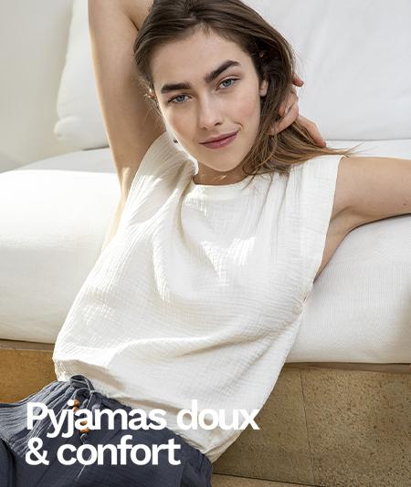 Nos pyjamas doux et confort sur Etam.com